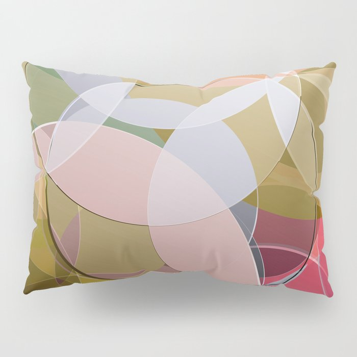 Abstract Composition 626 Pillow Sham