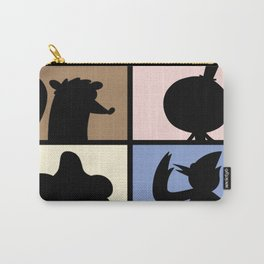 Cartoon Characters  Carry-All Pouch