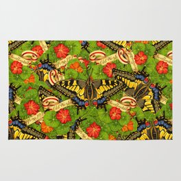 Old World Swallowtail Cacophony Rug