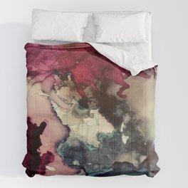 Dark Inks - Alcohol Ink Painting Comforters