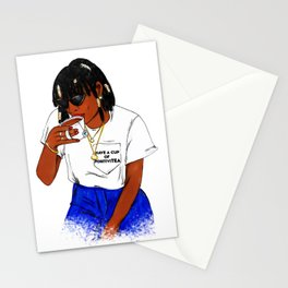 HAVE A CUP OF POSITIVITEA Stationery Cards