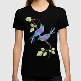 Two Blue Birds T-shirt