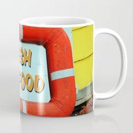 Fresh Local Seafood Coffee Mug