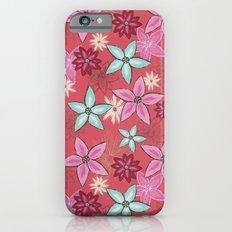 Garden of flowers iPhone 6s Slim Case