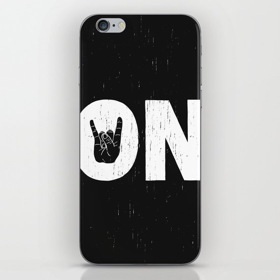 Rock On iPhone & iPod Skin