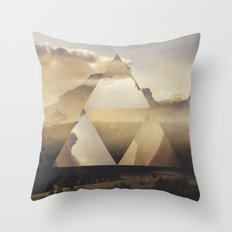 Hyrule - Power of the Triforce Throw Pillow