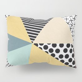 Abstract Geometry Pillow Sham