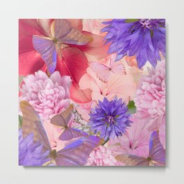 My Day In Fantasy Garden - #society6 #buyart Metal Print