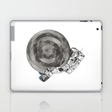 Troubled Moons and Spacemen Laptop & iPad Skin