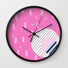 Memphis 2 Wall Clock