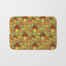Mushroom Print in 3D Bath Mat