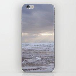 Foggy Beach (colour) iPhone Skin