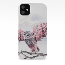 Sakura Owl iPhone Case