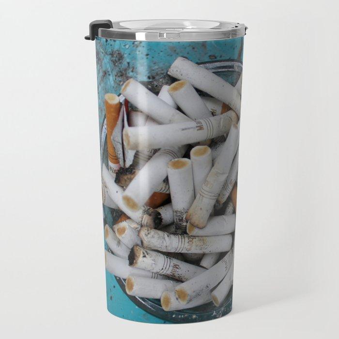 Cigarette Butts Travel Mug