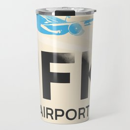 JFK stylish airport code Travel Mug