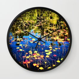 Land of Lilies Wall Clock