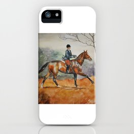 Fall Rider iPhone Case