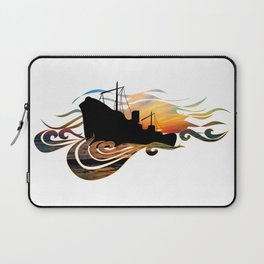 The Intimate Stranger (Greek Ship) Laptop Sleeve
