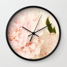 Peony No.2 Wall Clock