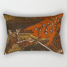 Essence: Samurai Rectangular Pillow