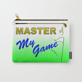 Master of My Game Carry-All Pouch