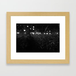 St Andrews at Night #3 Framed Art Print