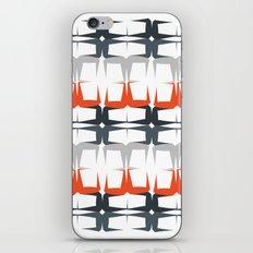Orange Gradient Pattern iPhone & iPod Skin