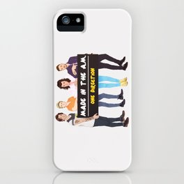 Made in the A.M. iPhone Case