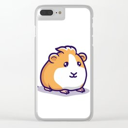 Guinea Pig Pellet Clear iPhone Case