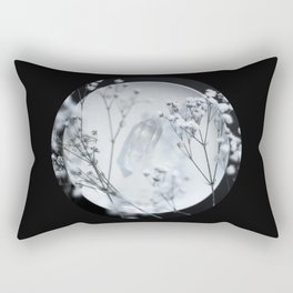 Silver Kiss II  Rectangular Pillow