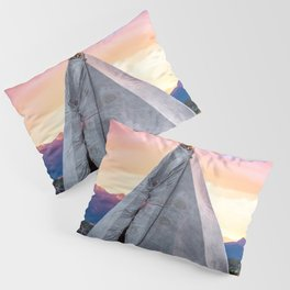 Southwest Sunset with Teepee Pillow Sham