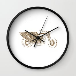 Motocross Dirt Bike Riders Racers Gift You're Never Lost On A Motorcycle Bikers Wall Clock