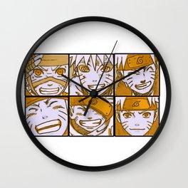 Naruto Smile Wall Clock