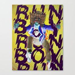 Run Boy Run Canvas Print