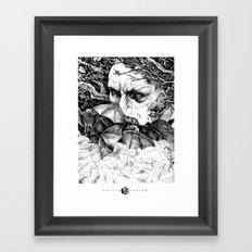 Batsorcerer Framed Art Print