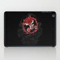 daredevil iPad Cases featuring Daredevil by Timo Ambo