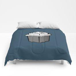 Coffee Square Comforters