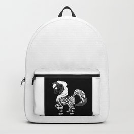 black pony horse ecopop Backpack