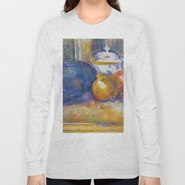 """Paul Cezanne """"Still-Life with a Watermelon and Pomegranates"""" Long Sleeve T-shirt"""