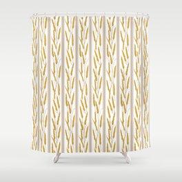 Prairie Wheat Shower Curtain