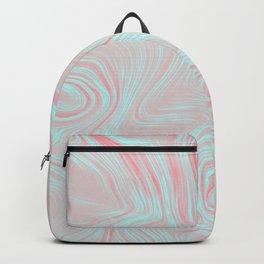Pink oil spills Backpack