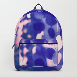 GLAM CIRCLES #Soft Pink/Blue #1 Backpack