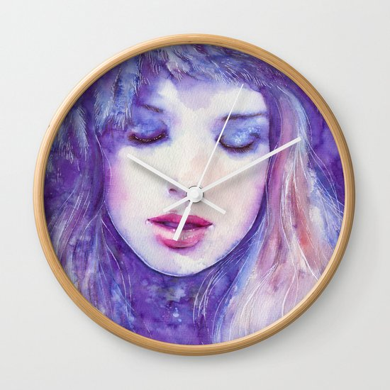 Song to the skies Wall Clock