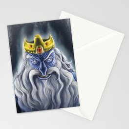 Ice Crown Stationery Cards