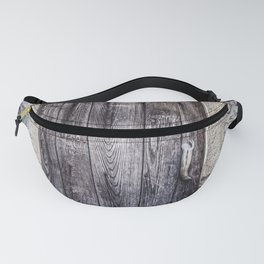 Old French Door Fanny Pack