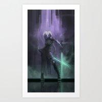 jedi Art Prints featuring Jedi? by The_Synn