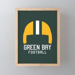 Green Bay Football Framed Mini Art Print