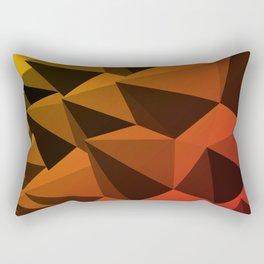 Spiky Brutalism - Swiss Army Pavilion Rectangular Pillow