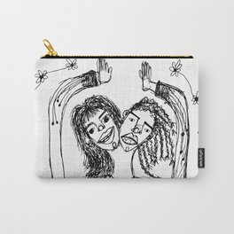 HAND IN HAND TO THE SUN Carry-All Pouch