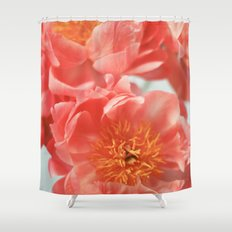 Paeonia #6 Shower Curtain